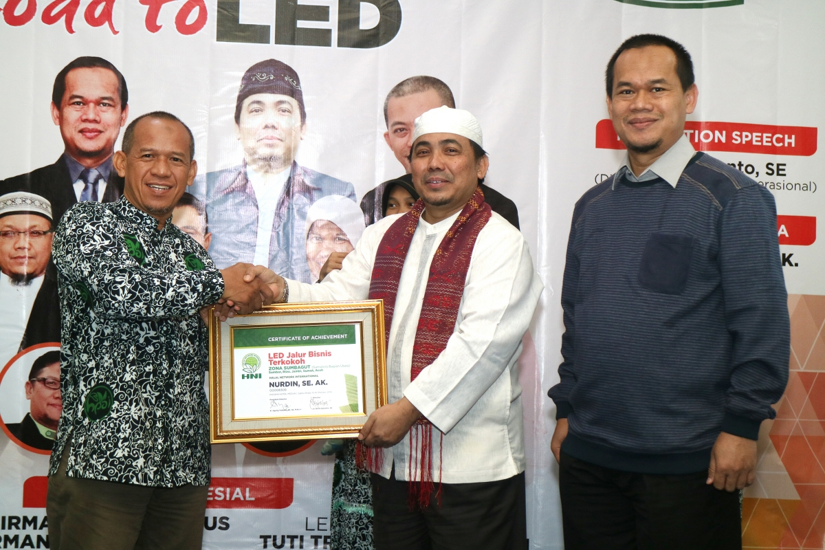 SBP INTENSIF NASIONAL ROAD TO LED, MEDAN-2016